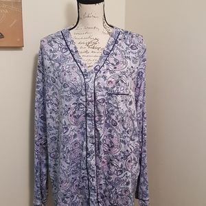 Women's Secret Treasures Pajama Top 3X